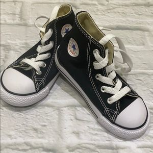Brand New Converse Black High Top